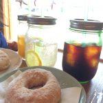 マライカバザールのカフェ