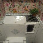 【釘打ち・のこぎり最小限】DIYド素人が100均材料でトイレをタンクレス風にしてみました!